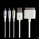 X7 iPod, iPhone dock kabel til linje ut+komponent bilde +usb thumbnail