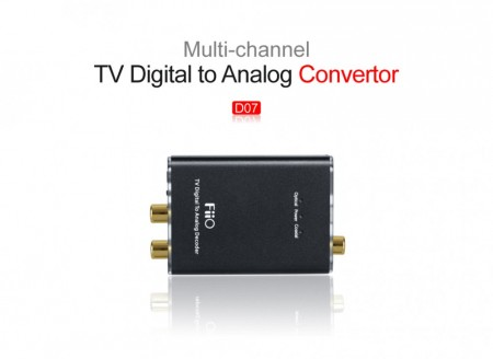 Fiio D07 Digital to Analog Converter