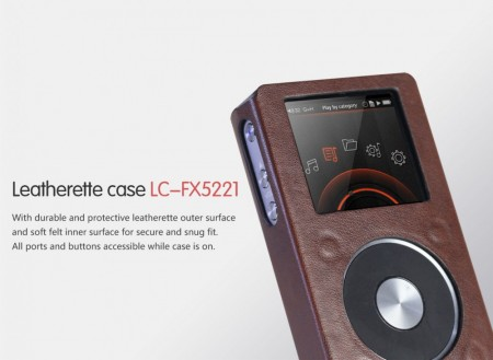 Fiio LC-FX5221 lether case for X5 v.2.