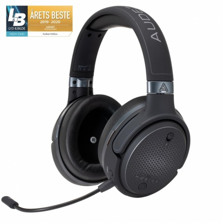 Audeze Mobius Gaming headset, sort
