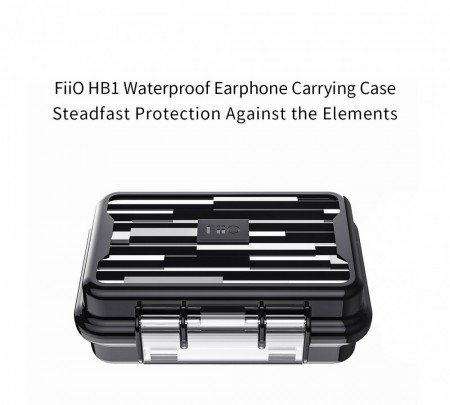 Fiio HB1 Vanntett etui for ørepropper