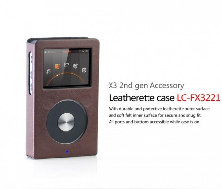 Fiio LC-FX3221 Lether case for X3 v.2.